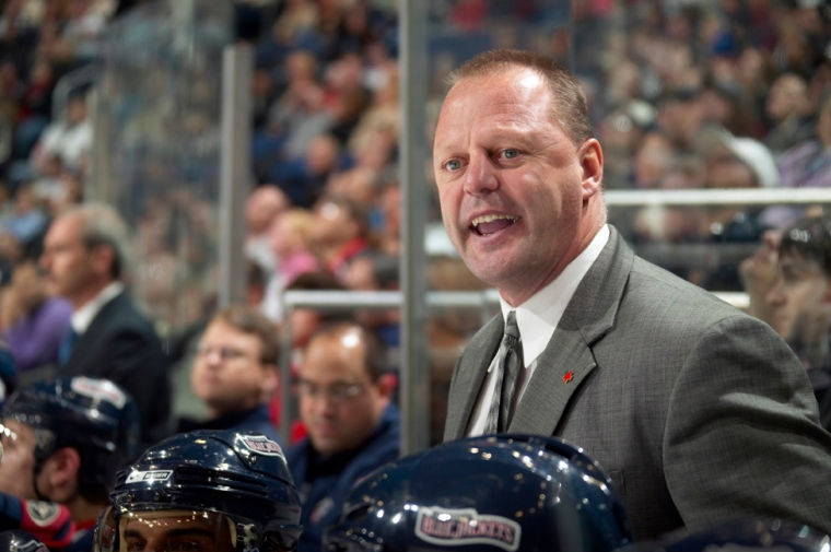 Gerard Gallant, Head CoachColumbus (5) vs. Calgary (4) Shootout