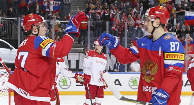 Gusev and Shipachyov at IIHF Worlds 2017