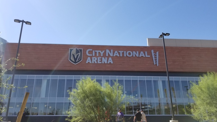 City National Arena Grand Opening 9:18:17