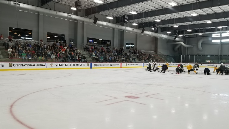 VGK Day 4 Of Training Camp 9:17:17