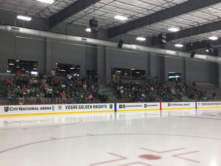 VGK Fans at. City National Arena 9:16:2017